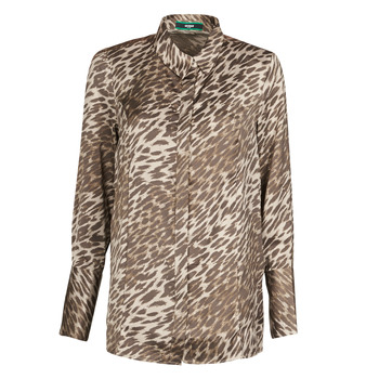 Υφασμάτινα Γυναίκα Μπλούζες Guess VIVIAN Leopard