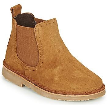 Παπούτσια Παιδί Μπότες Citrouille et Compagnie HOVETTE Camel