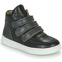 Παπούτσια Αγόρι Ψηλά Sneakers Citrouille et Compagnie NOSTI Black / Grey