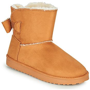 Παπούτσια Γυναίκα Μπότες Moony Mood NOWER Camel