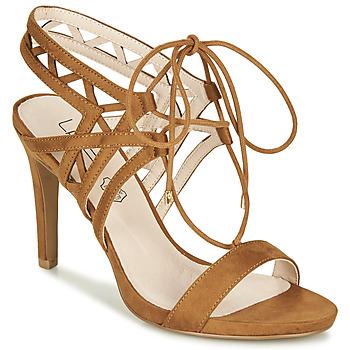Παπούτσια Γυναίκα Σανδάλια / Πέδιλα Les Petites Bombes MACHA Camel