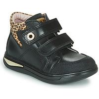 Παπούτσια Κορίτσι Ψηλά Sneakers Pablosky 490611 Black / Leopard