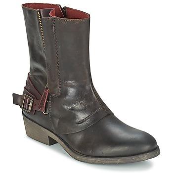 Παπούτσια Γυναίκα Μπότες Kickers AMERIKO Brown