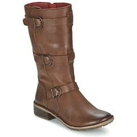 Παπούτσια Γυναίκα Μπότες για την πόλη Kickers GROWUP Brown / Fonce
