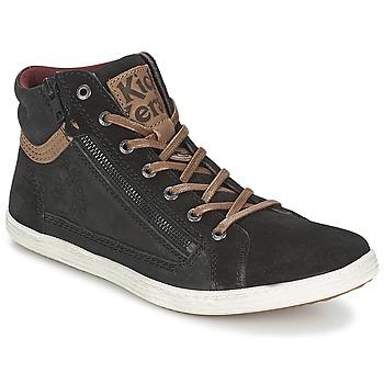 Παπούτσια Άνδρας Ψηλά Sneakers Kickers AMASOL Black
