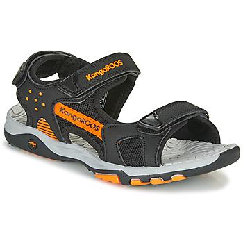 Παπούτσια Αγόρι Σπορ σανδάλια Kangaroos K-Celtic Black / Orange