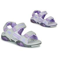 Παπούτσια Παιδί Σπορ σανδάλια Kangaroos Sandalshine Grey / Violet