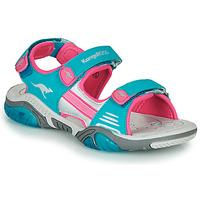 Παπούτσια Παιδί Σπορ σανδάλια Kangaroos Sandalshine Μπλέ / Ροζ