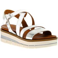 Παπούτσια Γυναίκα Σανδάλια / Πέδιλα Grunland BIANCO I8FAMA Bianco
