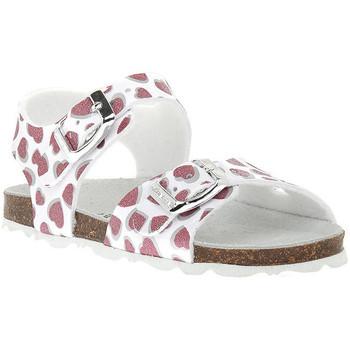 Παπούτσια Κορίτσι Σανδάλια / Πέδιλα Grunland BIANCO 40ARIA Bianco