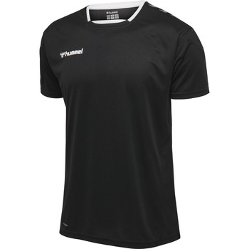 Υφασμάτινα Άνδρας T-shirt με κοντά μανίκια Hummel Maillot  Authentic Poly HML noir/blanc