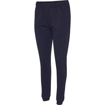 Υφασμάτινα Γυναίκα Φόρμες Hummel Pantalon femme  hmlGO cotton bleu marine