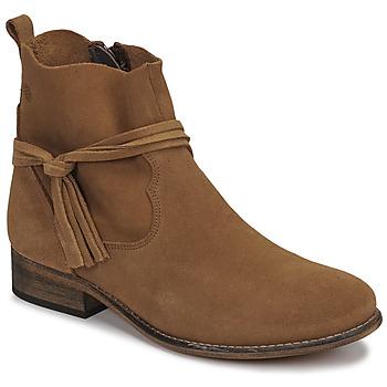 Παπούτσια Γυναίκα Μπότες Betty London NENESS Camel