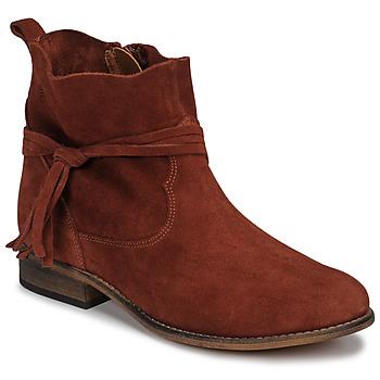 Παπούτσια Γυναίκα Μπότες Betty London NENESS Brique