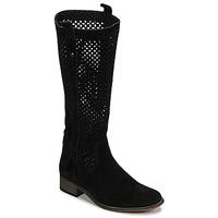 Παπούτσια Γυναίκα Μπότες για την πόλη Betty London DIVOUI Black