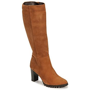 Παπούτσια Γυναίκα Μπότες για την πόλη Betty London NOEME Camel