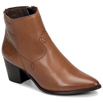 Παπούτσια Γυναίκα Μποτίνια Betty London NIMIE Camel