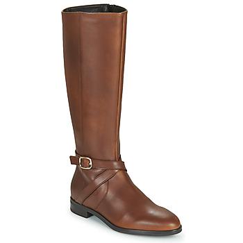 Παπούτσια Γυναίκα Μπότες για την πόλη Betty London NILOU Camel