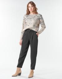 Υφασμάτινα Γυναίκα Κοντά παντελόνια Vila VICHARLOTTE Black