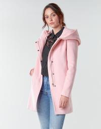 Υφασμάτινα Γυναίκα Παλτό Moony Mood NANTE Ροζ