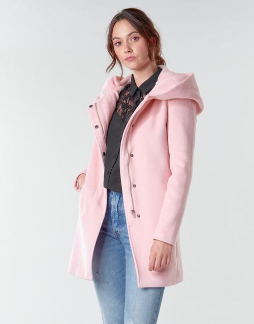 Υφασμάτινα Γυναίκα Παλτό Moony Mood PANTE Ροζ