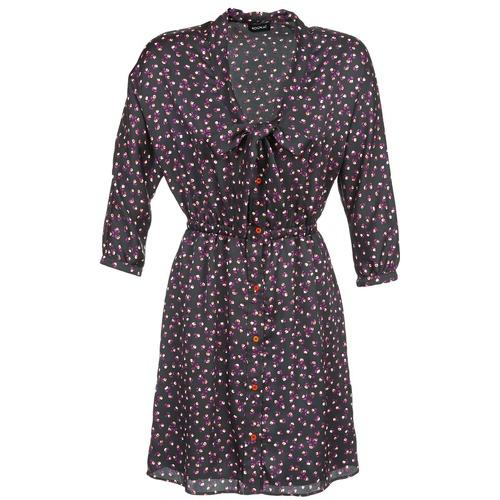 Υφασμάτινα Γυναίκα Κοντά Φορέματα Kookaï IXIMALE Black / Violet