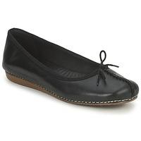 Παπούτσια Γυναίκα Μπαλαρίνες Clarks FRECKLE ICE Black