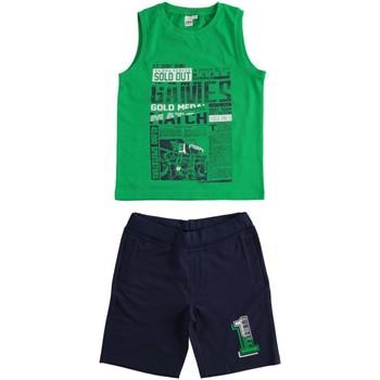 Υφασμάτινα Αγόρι Σετ Ido 4J019 Verde/blu