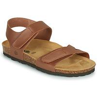 Παπούτσια Κορίτσι Σανδάλια / Πέδιλα Citrouille et Compagnie BELLI JOE Brown