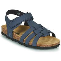 Παπούτσια Αγόρι Σανδάλια / Πέδιλα Citrouille et Compagnie JANISOL Μπλέ