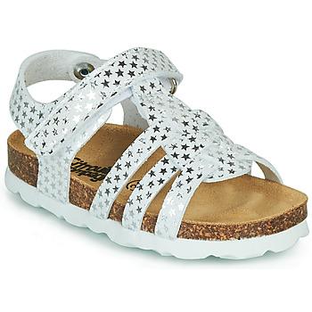 Παπούτσια Κορίτσι Σανδάλια / Πέδιλα Citrouille et Compagnie MALIA Άσπρο