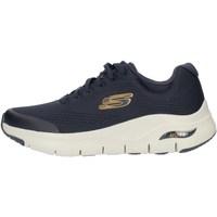Παπούτσια Άνδρας Ψηλά Sneakers Skechers 232040 Blue