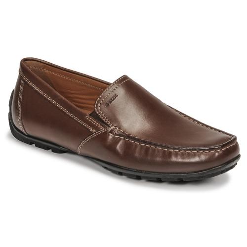 Παπούτσια Άνδρας Μοκασσίνια Geox MONET Brown
