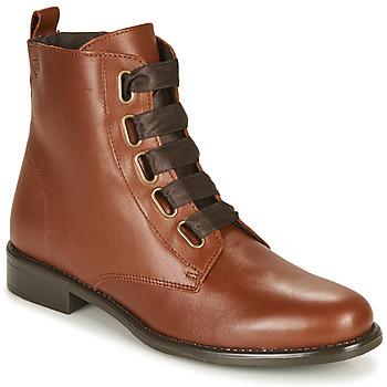 Παπούτσια Γυναίκα Μπότες Betty London NAMA Camel