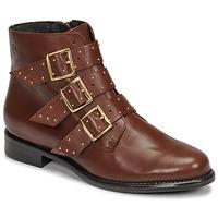 Παπούτσια Γυναίκα Μπότες Betty London LYS Camel