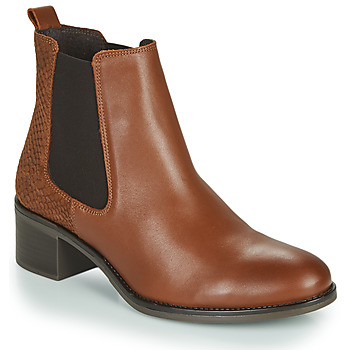 Παπούτσια Γυναίκα Μποτίνια Betty London HASNI Rouille
