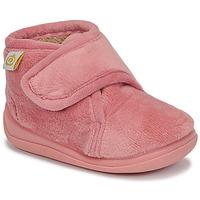 Παπούτσια Κορίτσι Παντόφλες Citrouille et Compagnie HALI Vieux / Ροζ