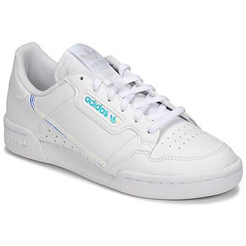 Παπούτσια Παιδί Χαμηλά Sneakers adidas Originals CONTINENTAL 80 J Άσπρο