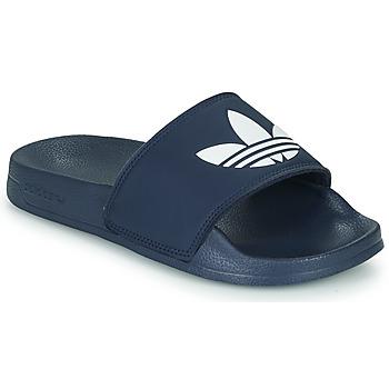Παπούτσια Παιδί Χαμηλά Sneakers adidas Originals ADILETTE LITE J Marine / Άσπρο