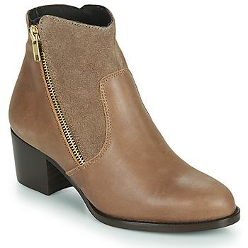 Παπούτσια Γυναίκα Μποτίνια So Size FELICIO Camel