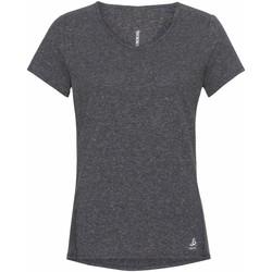 Υφασμάτινα Γυναίκα T-shirt με κοντά μανίκια Odlo T-shirt femme  Lou Linencool gris