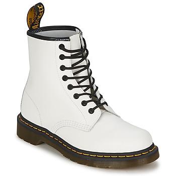 Παπούτσια Μπότες Dr Martens 1460 άσπρο