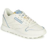 Παπούτσια Χαμηλά Sneakers Reebok Classic CL LTHR Άσπρο