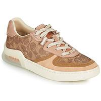 Παπούτσια Γυναίκα Χαμηλά Sneakers Coach CITYSOLE Cognac / Beige / Nude