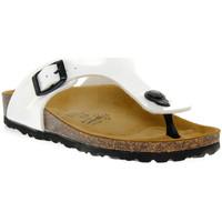 Παπούτσια Αγόρι Σαγιονάρες Gold Star BIANCO VERNICE Bianco