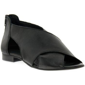 Παπούτσια Γυναίκα Σανδάλια / Πέδιλα Priv Lab ROSSELLA  KENT NERO Nero