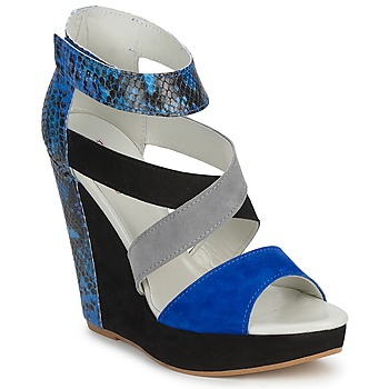 Παπούτσια Γυναίκα Σανδάλια / Πέδιλα Serafini CARRY Black / Μπλέ / Grey