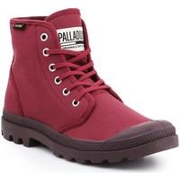 Παπούτσια Άνδρας Ψηλά Sneakers Palladium Pampa HI Oryginale 75349-604-M burgundy