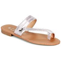 Παπούτσια Γυναίκα Σαγιονάρες Les Petites Bombes EVA Ροζ / Silver