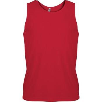 Υφασμάτινα Άνδρας Αμάνικα / T-shirts χωρίς μανίκια Proact Débardeur  Sport rouge